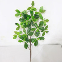 High Quality Real Touch Artificial Green Leaves Wholesale Artificial Tree Branches And Leaves For Christmas Decoration