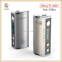 Royalola mechanical box mod electronic cigarette best vapor mod temperature control mod