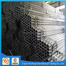 ASTM A500 Hot dipped Galvanized Steel Pipe fluid/costruction/greenhouse/sun power