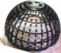 globe projection stadium led display screen sign sphere projection p6p10