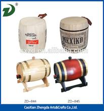 Mini Wine Barrel