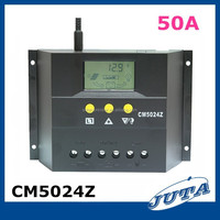 50a12v/24v with ce rohs pwm and LCD battery charger solar charger controller 50a kit hho
