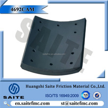4692CAM international trucks brake parts wholesale drum brake lining