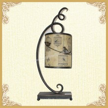 French style art metal lamp