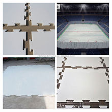 Artificial ice board/plastic skating panel/sheet for hockey rink