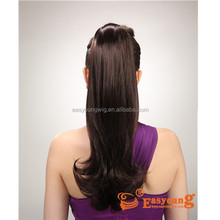 Beauty salon hair accessories in wholesale price, ponytail hair pieces