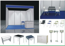 Chinese Aluminium Desk For Display and Exhibition Booth Desks and Chairs