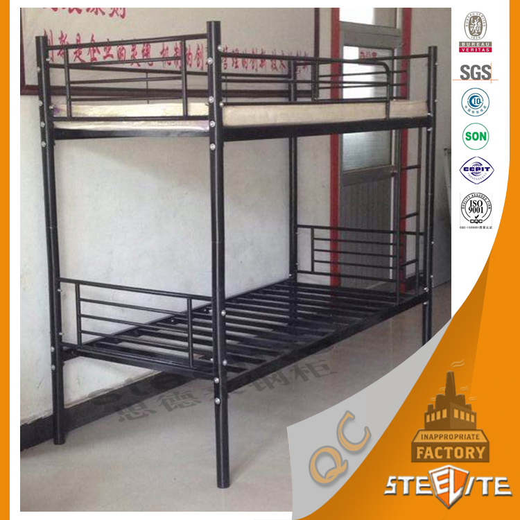 China high loading capacity design army bunk bed military for High beds for sale