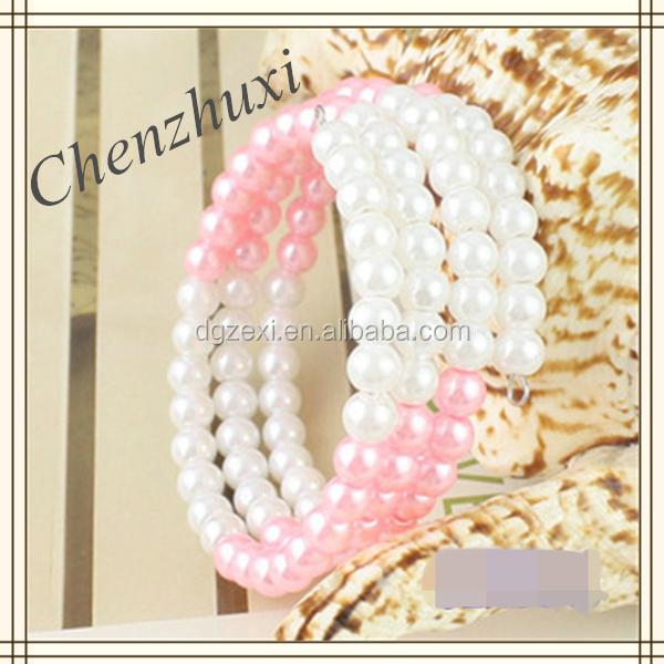 Charming Women Bracelet Jewelry,Wholesale Faux Pearl Bracelet