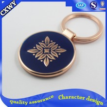 2015 High quality cheap custom keychain
