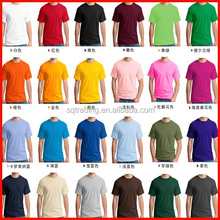 Blank t-shirt wholesale high quality cotton fabric