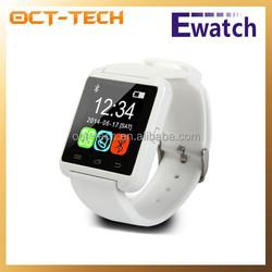 Cheapest wrist watch phone U8,MTK smart watch phone bluetooth