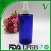 PET Cylinder CLear Cosmetic 500ml spray plastic bottle by Shenzhen Manufacturer