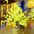 Nuevos nuevos productos al aire libre brillantes 2,014 iluminado árbol de los bonsai llevado