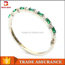 dazzling handmade rose gold plated fashion Indian 925 silver bangle jewellery