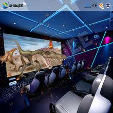High definition 4D movie theater,spray water,air,snow,rain special effect