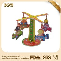 Mini Fairground building block 3d plastic puzzle model jigsaw puzzle game educational toy