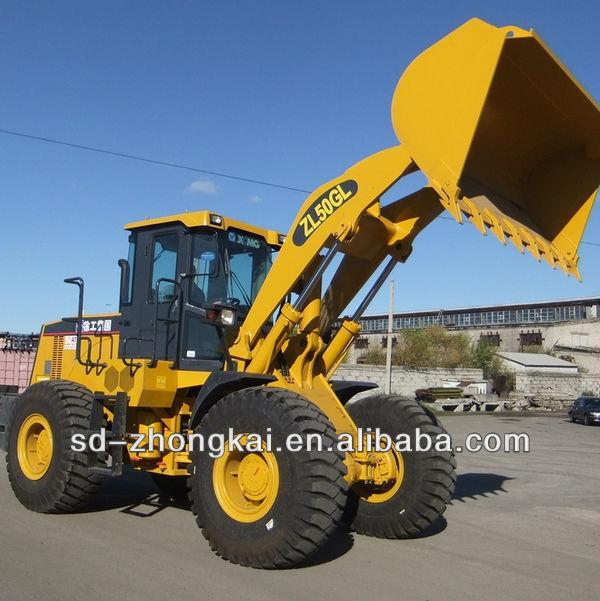 Xcmg cargadora de ruedas bulldozer bulldozer ZL50GN