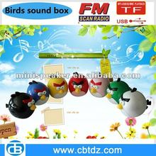 hot sale bird shaped speaker for Computer/PC