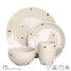 2014 Hot sell stoneware china dinnerware set,unique dinnerware set supplier,ceramic dinnerware