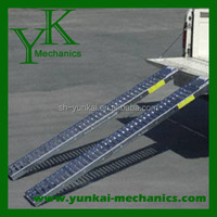 Heavy-Duty Folding Aluminum Motorcycle & Dirt Bike Lift Ramp / Durable Pro Racing Ramp
