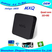 MXQ Amlogic S805 Ott Tv Box Made In China
