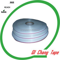 14/4/6mm,double sided,resealable,antistatic ,for Garment bags,bag sealing tape export to Brasil,Mexico and Canada