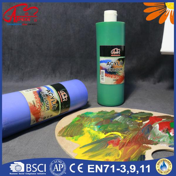 250ml 500ml profesional de pl stico acr lico pintura para pintar - Pintura para plastico ...