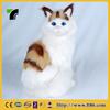 furry wholesale fur stuffed handmade real looking cat animal toy
