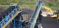 Steam coal for power plants