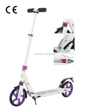 Adult's big wheel push scooter Full Alluminum with double suspension Europe urban kick scooter