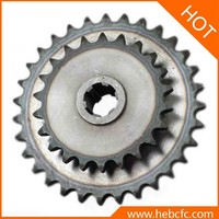carbon fixed gear frame/gear motor for sliding gate/nylon plastic sprockets gear