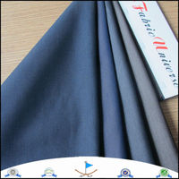 Polyester Pinstripe Suit Fabric Material For Making Clothes 9157