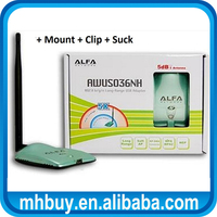 802.11n/b/g Alfa AWUS036NH High Power Wireless USB Adapter with Ralink RT3070 Chipset