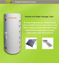 solar tank solar with double copper coil