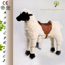 EN71,ASTM,CE,Dalian Manufacturers looking for distributor Plush Ride On Animal Toy Horse on wheels Made In China
