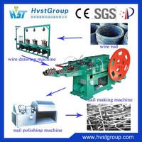 China automatic wire nail making machine price