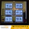 Slim backlight LED frame acrylic light panel real estate agents window display