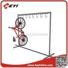 Venda direta da fábrica à prova de ferrugem de bastidores de armazenamento cremalheira de exposição de bicicletas