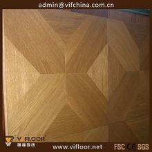 artistic parquet flooring uv coated