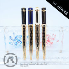 Small Order Accept Exclusive Custom Shape Printed Metal Twist Ball Pen
