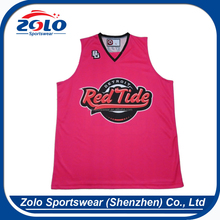 New Arrival Cheap Customized Sublimated Youth Basketball Jerseys With Number