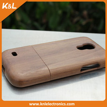 For Samsung s4 mini Wooden Cell Case, 2015 New Stylish PC Back Cover Case for Samsung s4 Mini OEM ODM