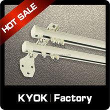 KYOK curved curtain track & curtain rod accessories wholesale ,electric curtain track