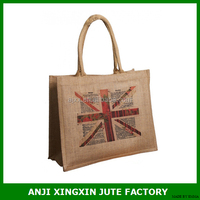 Customized printing woven cloth shopping bag for store and supermaket