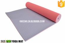 brand logo pvc yoga mat 5mm with UV print