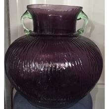 Modern Purple Glass Flower Vase,Table Decorative Flower Vase