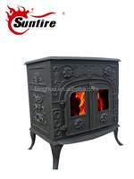 wood stove secondary burn,fireplace baffle