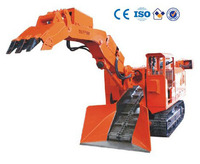 TMC-120 crawler haggloader for tunnelling and mining tunnelling loader