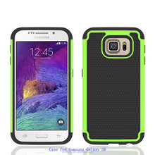 Shockproof Shatterproof Smartphone Accessories Hybrid Cover Mobile Phone Case For Samsung Galaxy S6 case